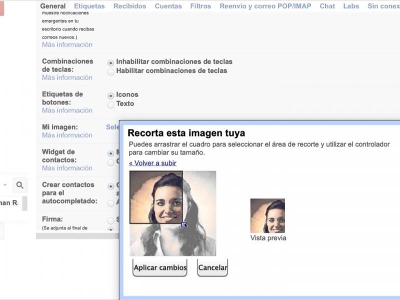 Cómo cambiar tu imagen de perfil de Gmail