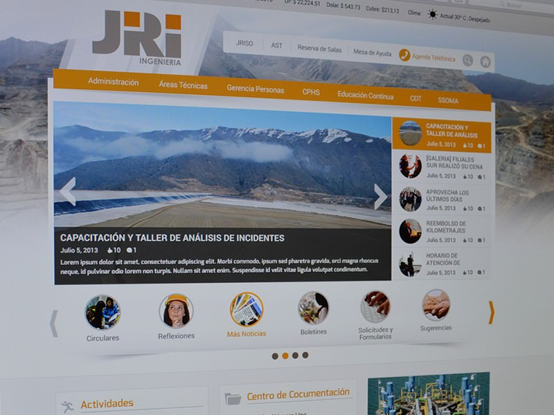 Intranet JRI Ingenieria